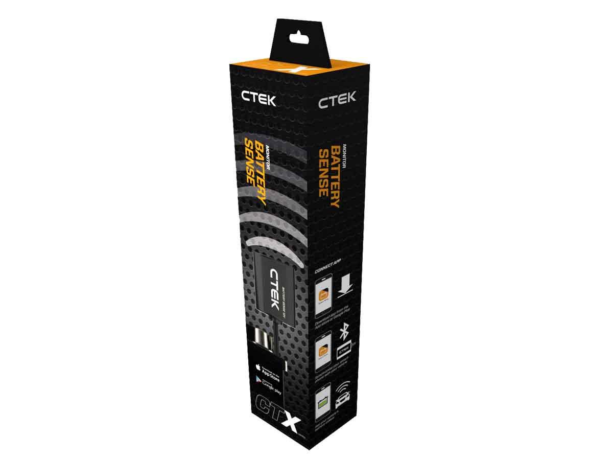 ctek battery sense ctx guard 12v batterie w chter. Black Bedroom Furniture Sets. Home Design Ideas