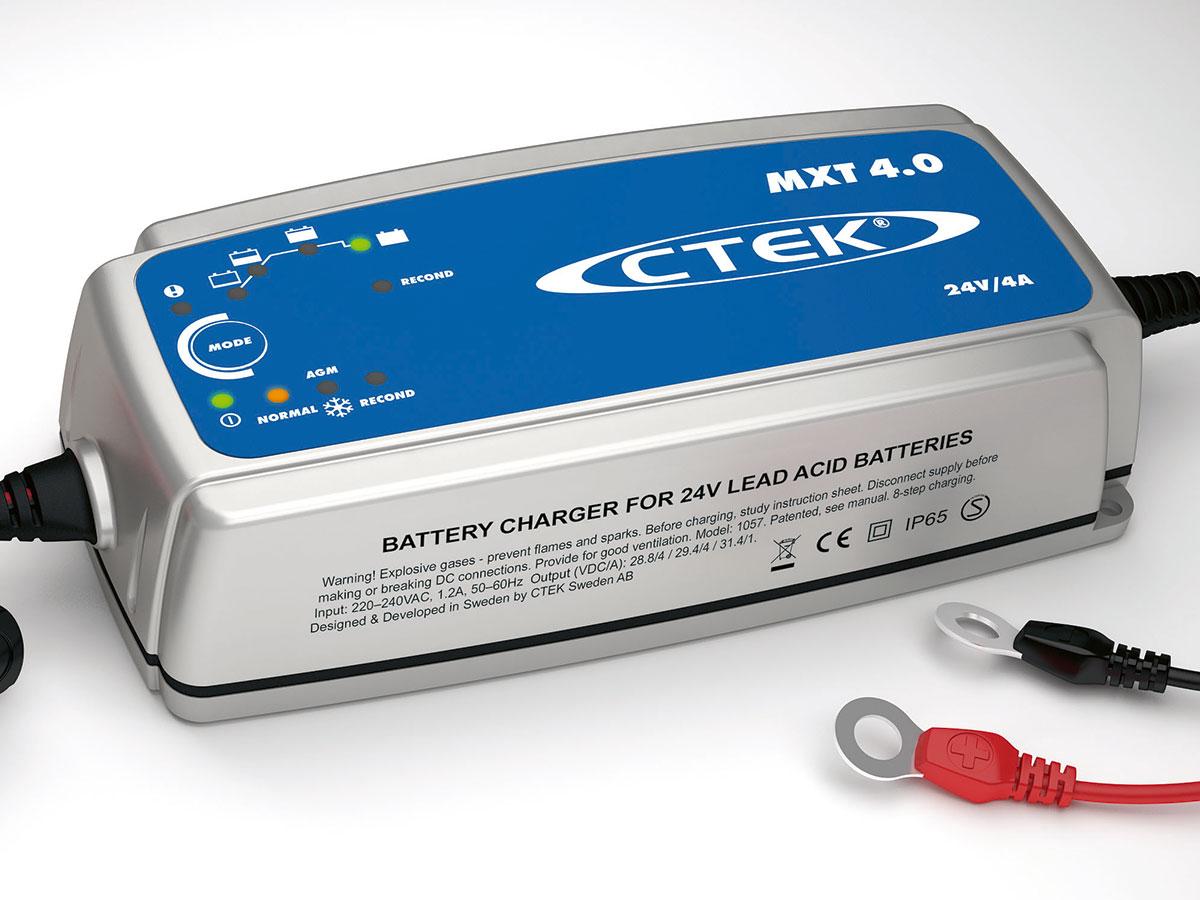 batterie ladeger t ctek mxt 4 0 multi 24v lkw bagger bus. Black Bedroom Furniture Sets. Home Design Ideas